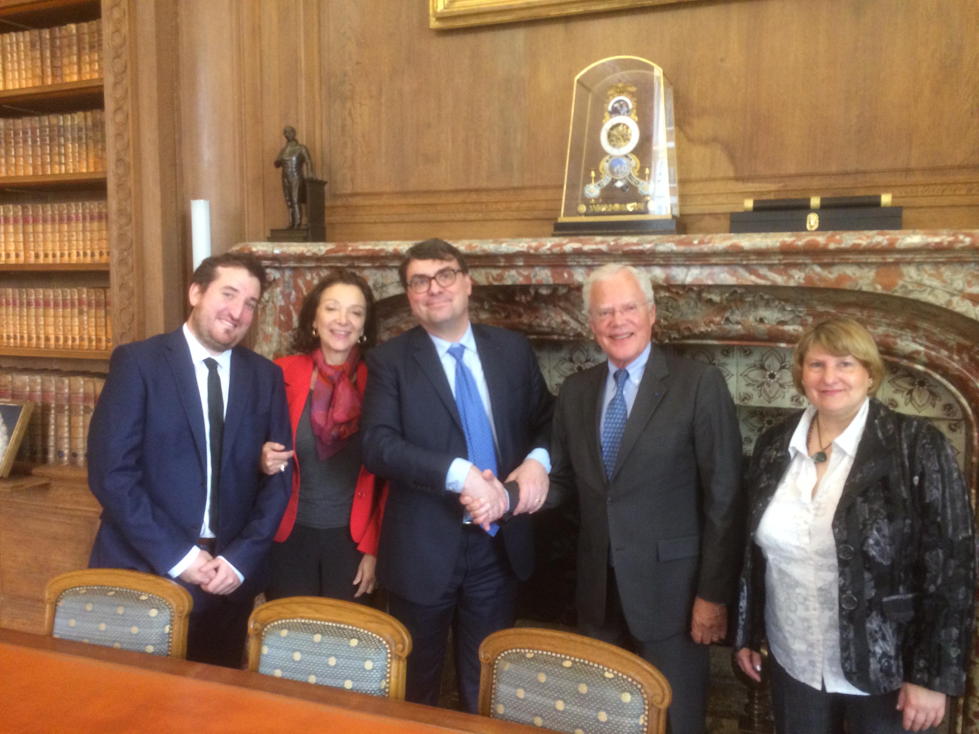 Convention avec l Ordre des avocats du Barreau de Paris